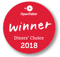 Open Table Dinner's Choice Winner 2018